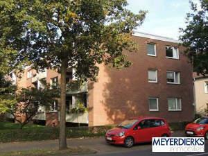 Osternburg - Cloppenburger Straße: 2-Zimmer-Wohnung mit Balkon