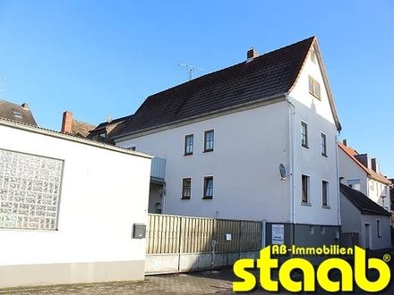Renditeobjekt oder Eigennutzung - Wohnhaus mit Gewerbefläche