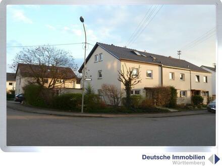 Familienglück: saniertes Reiheneckhaus in Waiblingen- Bittenfeld