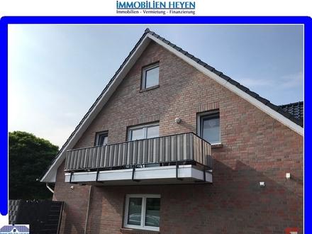 Gepflegte Obergeschosswohnung mit Balkon und Studioraum (DG) in Papenburg