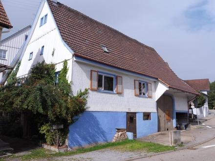 Einfamilienhaus mit Scheune und großen Ausbaumöglichkeiten