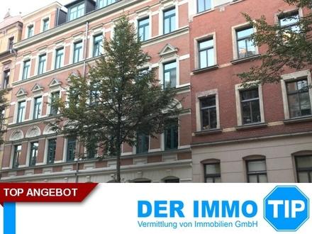 3 Zimmerwohnung mit Balkon und Einbauküche auf dem Chemnitzer Kaßberg