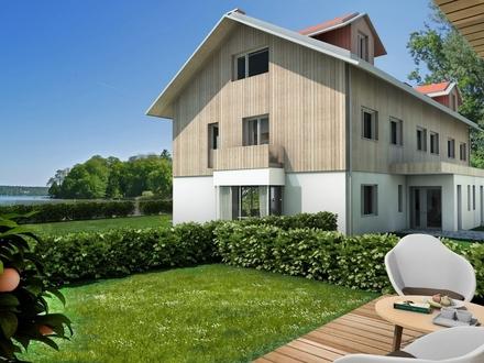 Haus Ahorn: Exklusive Doppelhausvilla direkt am Starnberger See