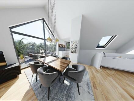 4-Zimmer-Penthouse-Maisonette in Maxglan mit 2 Badezimmer