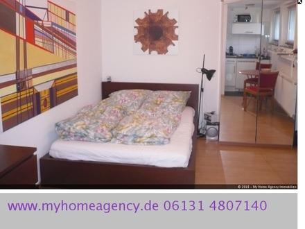 MAINZ-OBERSTADT: ruhiges, stilvoll möbliertes Apartment Nähe Uniklinik/Hauptbahnhof