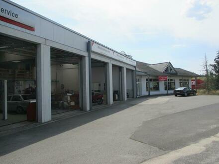 Autohaus mit Werkstatt und separater Lagerhalle in Tirschenreuth