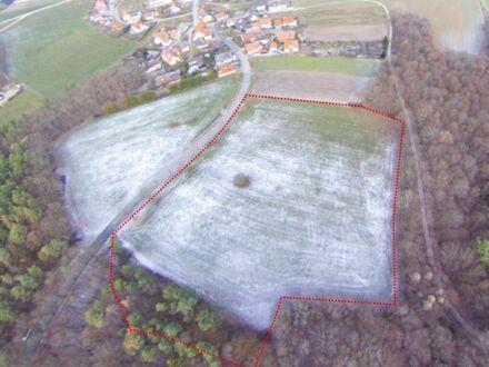 Bauträger und Projektentwickler aufgepasst! An Wohngebiet anliegendes Ackerland Stückbrunn-Trunstadt