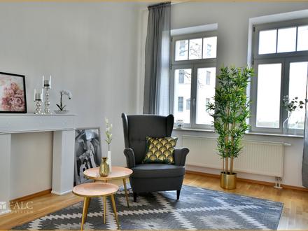 Schicke Drei-Zimmer-Wohnung mit Parkett, Balkon & PKW-Stellplatz!