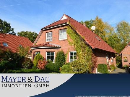Großefehn: Schönes und gepflegtes Einfamilienhaus in toller Lage von Holtrop Obj-Nr. 4483