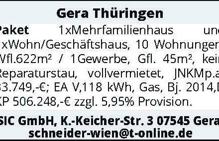 Gera Thüringen