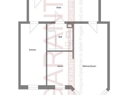Schöne 2 Zimmer-Wohnung in Anger-Crottendorf mit Einbauküche