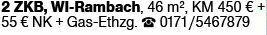 4-Zimmer Mietwohnung in Wiesbaden-Rambach (65207)