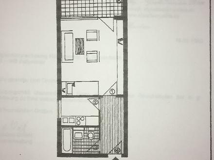 1 Zimmer Wohnung zentrumsnah