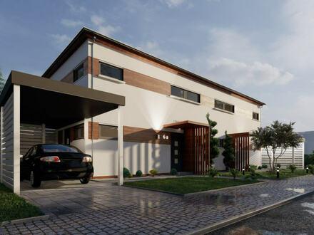Neubau - Doppelhaus - inkl. Grundstück in 2ter Reihe in Hahlen - KfW 55