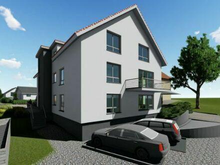 Kirchberg / Jagst, attraktive EG 3,5 Zimmerwohnung in MFH mit 8 WE