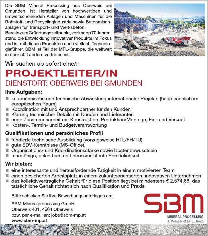 Die SBM Mineral Processing aus Oberweis bei Gmunden, ist Hersteller von hochwertigen und umweltschonenden Anlagen und Maschinen für die Rohstoff- und Recyclingindustrie sowie Betonmischanlagen für
