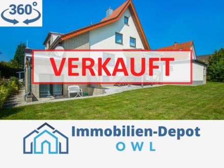 Beste Aussichten! Familientraum auf zwei Etagen in Bielefeld