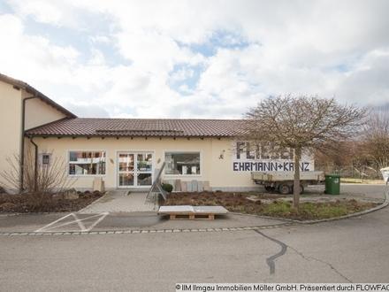 Helle - freundliche Büro- und Ausstellungsräume + Lager