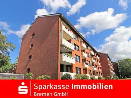 Helle 3-Zimmer-Eigentumswohnung im Hochparterre in Bremen-Ellenerbrock-Schevemoor