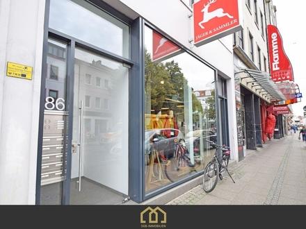 Ostertor / Renovierte 1-Zimmer-Dachgeschosswohnung Zentral am Ostertorsteinweg