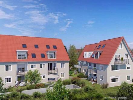 2-Zimmer-Neubau-Wohnung mit Terrasse in Stuttgart-Vaihingen