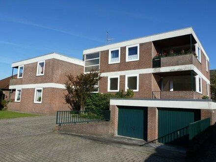 Hochparterrewohnung in ruhiger Wohnlage von Westerstede mit Balkon!