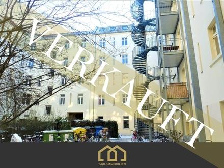 Verkauft: Berlin / Friedrichshain: DG, lichtdurchflutete Splitt-Level-Wohnung in Toplage