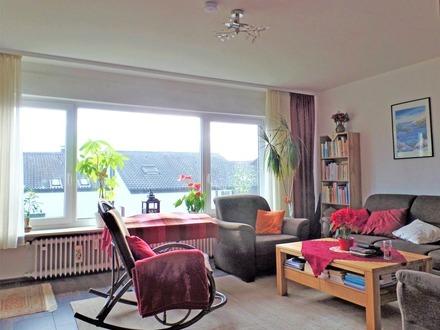 Gemütliche 3,5-Zimmer-Wohnung mit Balkon und Gartenanteil