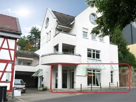 Wiesbaden - Alt-Sonnenberg Ortsmitte > ~52 m² Ladenlokal / Büro plus ~22 m² Lager plus Stellplatz