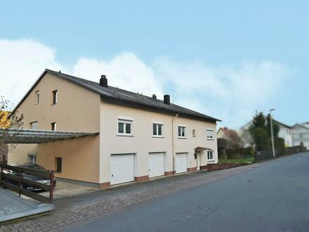 Große Doppelhaushälfte in Laudenbach