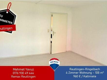 Gepflegte 4-Zimmer-Wohnung mit Balkon und Einbauküche in Reutlingen