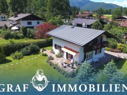 Idyllisches Einfamlilienhaus mit Alpenblick
