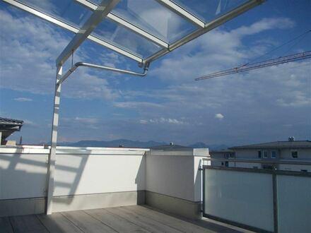 * Exklusive Penthouse-Wohnung zum Verlieben*: NEUBAU/Erstbezug in guter Wohnlage in Kolbermoor mit Panorama-Bergblick, großer…