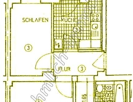 3 Raum Wohnung in Hilbersdorf (Hilbersdorf)