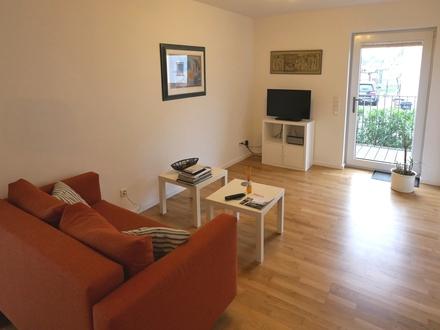 Hochwertig möblierte Wohnung - komplett ausgestattet