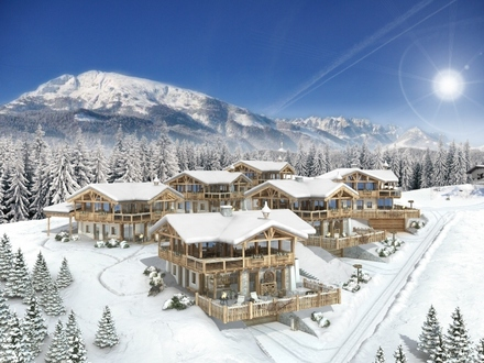 """Hollersbach: exklusives Ferienchalet mit Designereinrichtung und kurzem Weg zum Einstieg in das Skigebiet """"Kitzbüheler Alpen"""""""