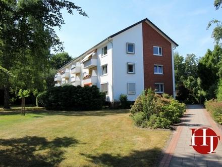 Helle Drei-Zimmer-Wohnung am Ende einer Sackgasse mitten in Huchting!