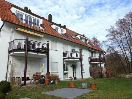 8 0 0,- für 3 Zimmer 88 qm + herrlichen SONNEN- BALKON direkt am Naturschutzgebiet Schwabachtalgrund