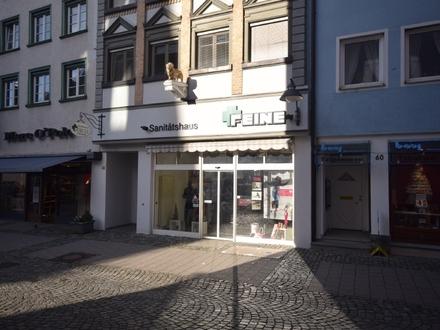 Solides Investment - Repräsentative Ladeneinheit in denkmalgeschütztem Wohn- und Geschäftshaus
