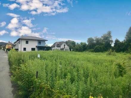 Welzenegg: großzügiges Grundstück (Anschlussgebühren für 1 BE =100 m² Wfl. bereits bezahlt)