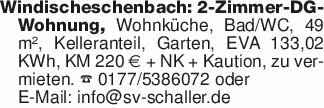 Windischeschenbach: 2-Zimmer-D...