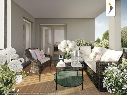 Alle 3 Zimmer mit Schlosspark-Blick: Hochwertig ausgestattete Balkonwohnung in Biebrich