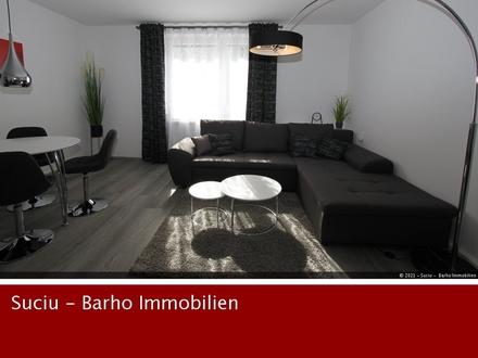 TOP! 2 Minuten zur Neckarpromenade möbliertes 2 Zimmer Business Apartment
