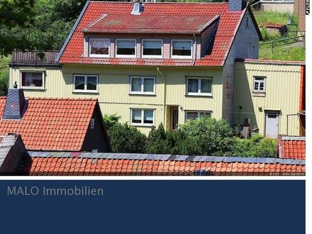 Ein - Zweifamilienhaus Wildemann wartet auf neuen Eigentümer und Feriengäste