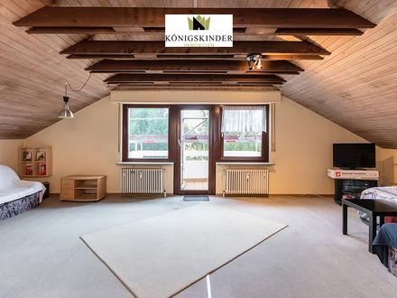 Schöne 1,5 Zi.-Wohnung mit Balkon und Pkw-Stellplatz in beliebter Wohnlage von Gerlingen - vermietet