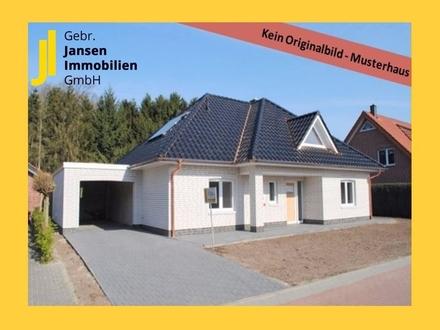 MUSTERHAUS - Schlüsselfertiger Walmdachbunglaow auf großem Grundstück - Nähe Esterwegen!!!