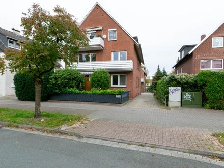 Vermietete Obergeschosswohnung mit schönem Balkon in Bloherfelde! Keine Käuferprovision!