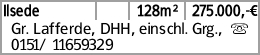 Ilsede 128m² 275.000,-€ Gr. Lafferde, DHH, einschl. Grg., s 0151/ 11659329