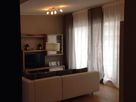 Wohnzimmer im dezenten Ambiente