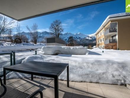 Neuwertige Eigentumswohnung mit Eigengarten in Toplage von Bad Goisern!!